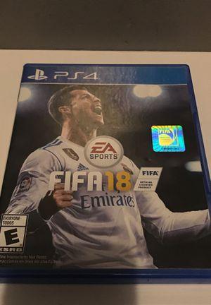FIFA 18 PS4 for Sale in Pico Rivera, CA