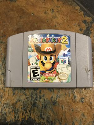 N64 Mario Party 2 for Sale in Mesa, AZ