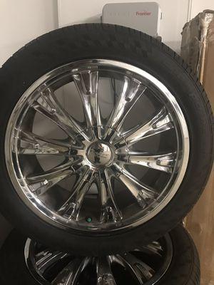 Cruiser Alloy 18in Rims! for Sale in Moreno Valley, CA