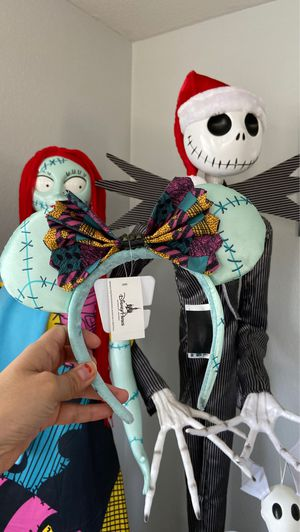 Nightmare before Christmas Sally Mickey ears for Sale in Moreno Valley, CA