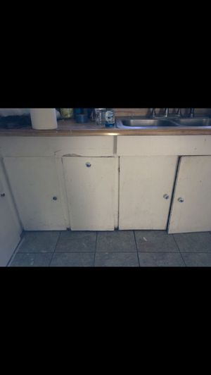 KITCHEN CABINETS WITH SINK for Sale in Oakland, CA