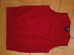 💯 Cashmere Red Sweater Vest size Small by Lord & Taylor for Sale in Phoenix, AZ