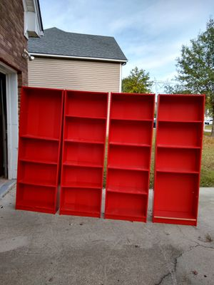 Ikea Red Bookshelves for Sale in Lithonia, GA