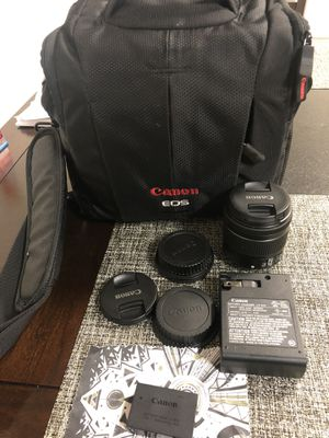 Canon camera bag - lens- battery - charger for Sale in New York, NY