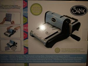 Sizzix BIGKick machine and accessories for Sale in Frisco, TX