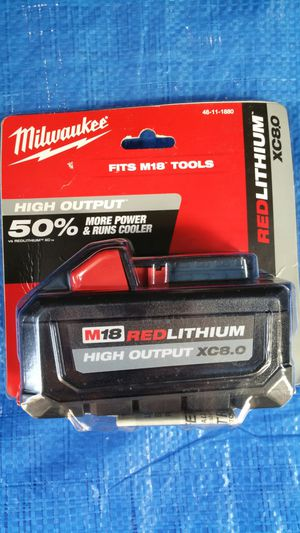 $150. Milwaukee 8.0ah battery for Sale in Evergreen, CO