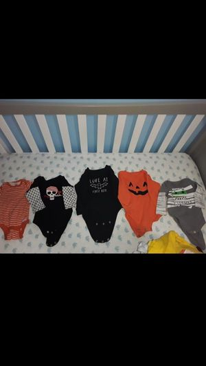 Halloween infant onsies NOT COSTUMES for Sale in Clearwater, FL
