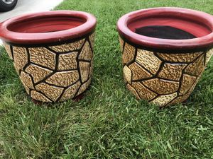Flower pots for Sale in Dinuba, CA