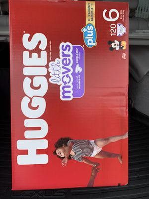 Huggies little movers size 6. — $45 FIRM for Sale in Hawthorne, CA