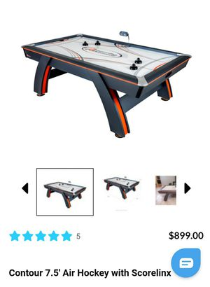 Atomic Contour 7.5 ft Air Hockey Table w. ScoreLinx Technology for Sale in St. Louis, MO