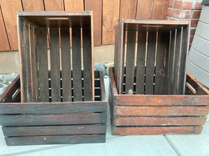 4 Wooden boxes for Sale in Tracy, CA