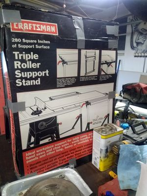 Table saw support stand for Sale in Richfield, OH