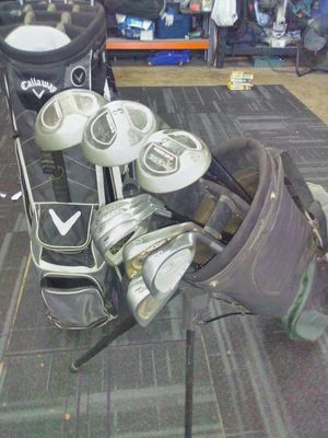 Golf clubs and bags for Sale in Visalia, CA