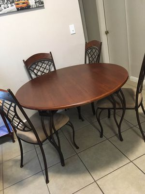 Kitchen table with chairs for Sale in Plantation, FL