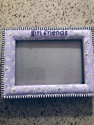 Purple girl friends 4x6 photo frame for Sale in Dallas, TX