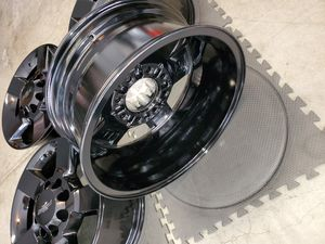 20 INCH FACTORY CHEVY CHEVROLET GMC WHEELS RIMS 8 LUG HD 2500 3500 for Sale in Perris, CA