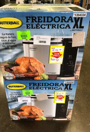 Butterball Electric Fryer 3Q for Sale in Irving, TX