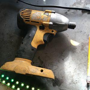18 Volt Dewalt Impact Gun for Sale in Riverside, CA