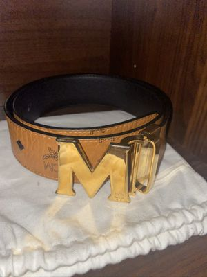 Mens MCM belt( have proof of authenticity) for Sale in Los Altos, CA