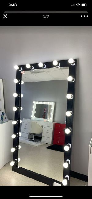 Black Full Body Mirror for Sale in Houston, TX