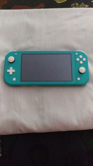 Nintendo switch with 2 gamea for Sale in Las Vegas, NV