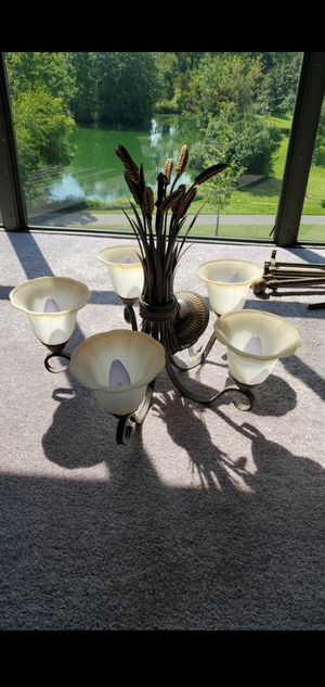 Dark Color Chandelier for Home Decor and Interior(Older) for Sale in Gaithersburg, MD