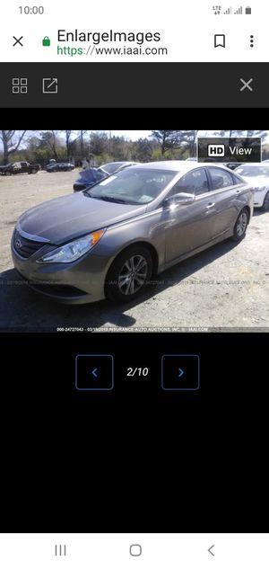 Hyundai sonata 2014 solo para partes for Sale in Miami, FL