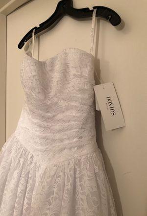 David's Bridal Brand brand new wedding dress for Sale in Phoenix, AZ