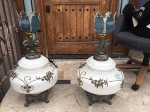 Pair of vintage lamps for Sale in South Gate, CA