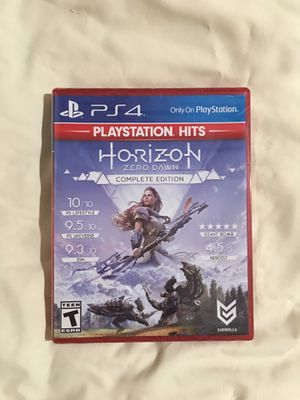 Horizon Zero Dawn Complete Edition PS4 - PlayStation 4 for Sale in San Jose, CA