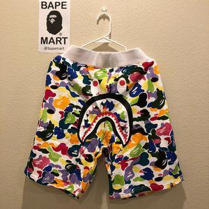 Bape shark shorts camo multicolor (fits like medium/large) for Sale in Los Angeles, CA