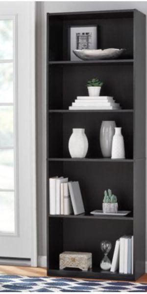 "New!! Bookcase, bookshelves, storage unit, organizer, 71"" 5 shelves bookcase, living room furniture, shelving display, espresso for Sale in Phoenix, AZ"
