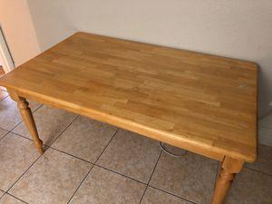 Solid oak kitchen table for Sale in Orlando, FL