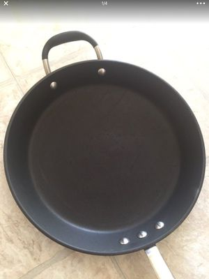 """12"""" nice cooking pan + one 2qt with lid sauce pan for Sale in St. Louis, MO"""