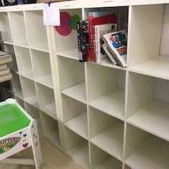 Ikea cube shelving units - two of them for Sale in New York, NY