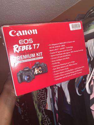 Canon Rebel T7 EOS for Sale in Louisville, AL