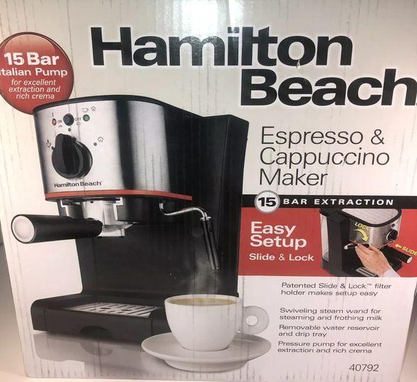Hamilton Beach Espresso Amp Cappuccino Maker Model 40792
