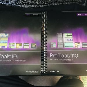 Pro Tools 101 And 110 Avid Learning Series for Sale in Woodside, CA