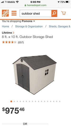 Outdoor storage shed for Sale in West Covina, CA