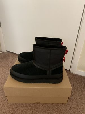 100% Authentic Brand New in Box UGG Classic Mini Urban Tech Waterproof Boots / Men Size 10 / Color: Black for Sale in Lafayette, CA