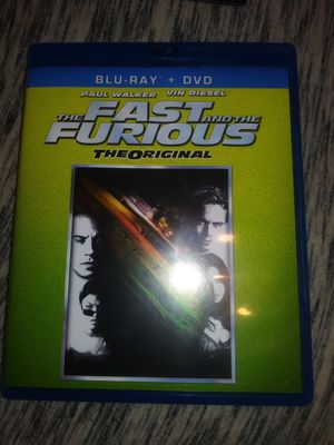 The fast and furious Blue ray dvd combo for Sale in Kansas City, MO
