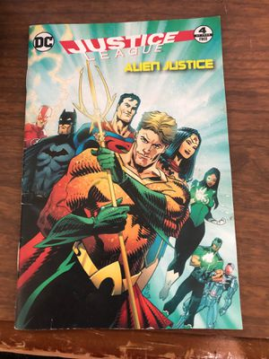 Dc JL 1 out of the 4 (4th book) for Sale in Pine Grove, PA
