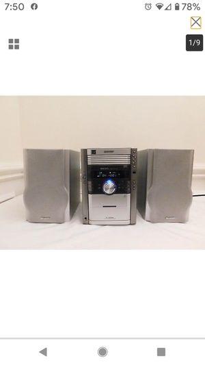 Sharp Micro Shelf Stereo System for Sale in Scottsdale, AZ