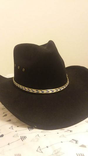 Western Express Inc. Black Velvet Cowboy Hat for Sale in Cardington, OH