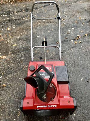 Toro CCR 2000E starts at first pull new paddles new scraper for Sale in Darien, IL