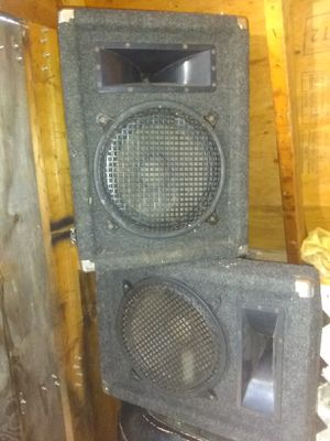 12 inch speakers for Sale in Farmville, VA