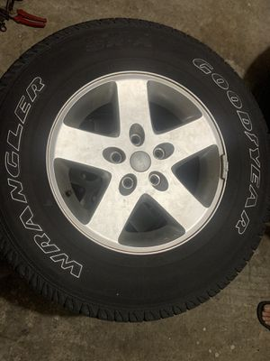5 tires and rims for Sale in Tampa, FL