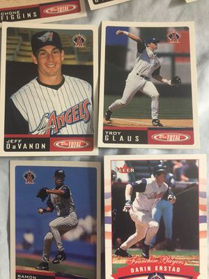 Eight baseball cards of the Angels for Sale in Happy Valley, OR