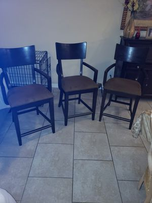 3 chairs for Sale in Kissimmee, FL