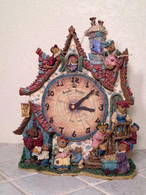 "Danbury Mint Boyd's Bears Clock ""Time Waits For No Bear"" for Sale in Fresno, CA"